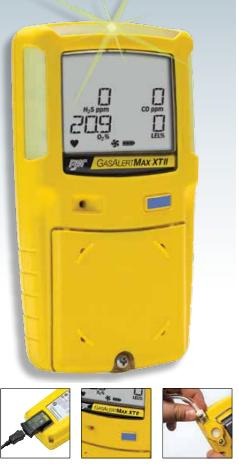 Портативный газоанализатор GasAlertMicroClip XT II производства компании Honeywell