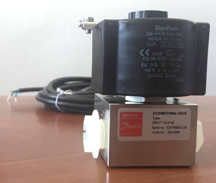 Электроклапан взрывозащищенный (взамен БУ-1 или ЭПУУ)